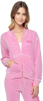 Juicy Couture Del Mar Burnout French Terry Jacket
