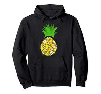 Dog Paw Pineapple Pullover Hoodie