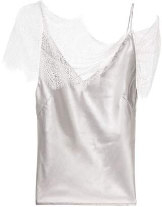 CHRISTOPHER ESBER lace-detail camisole top