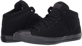 Converse Chuck Taylor All Star High Street - Mid (Black/Black/Almost Black) Athletic Shoes
