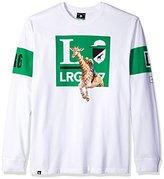 Lrg Men's Big and Tall Giraffe Sport Long Sleeve T-Shirt