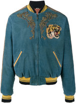 Gucci corduroy bomber jacket
