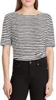 Ralph Lauren Brushstroke-Striped Top