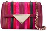 Sara Battaglia 'Elizabeth' shoulder bag - women - Calf Leather/Polyester - One Size