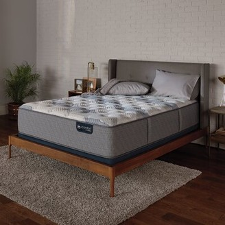 "Serta iComfort 100 13"" Firm Hybrid Mattress and Box Spring Mattress Size: Twin, Box Spring Height: Standard Profile (9"")"