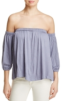 Ella Moss Gioannia Off-the-Shoulder Top