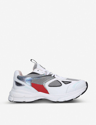 Axel Arigato Marathon Runner mesh and leather trainers