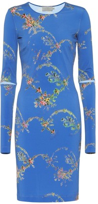 Preen by Thornton Bregazzi Floral-printed stretch crApe dress