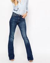 MANGO Midwash 70's Flare Jeans