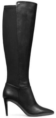 MICHAEL Michael Kors Dorothy Leather Flex Knee-High Boots