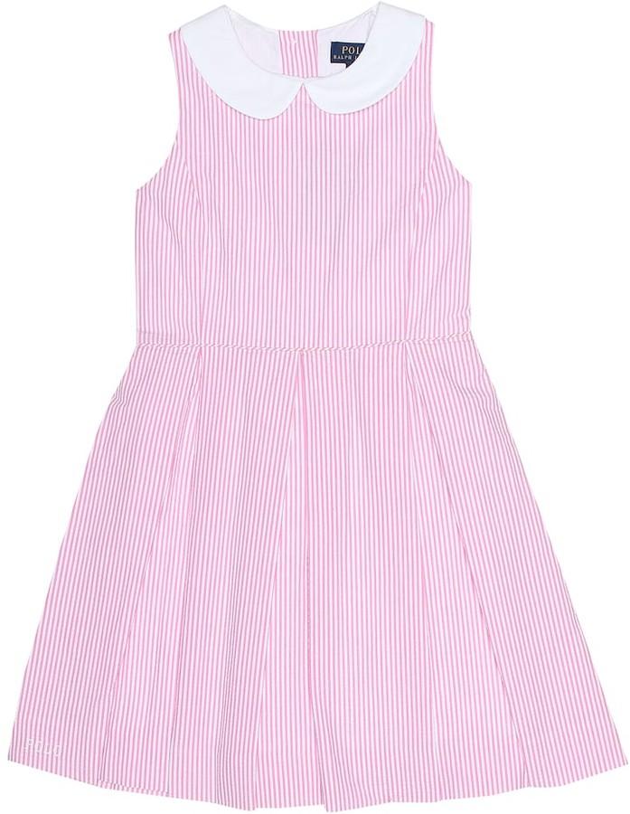1e873699 Baja striped cotton dress