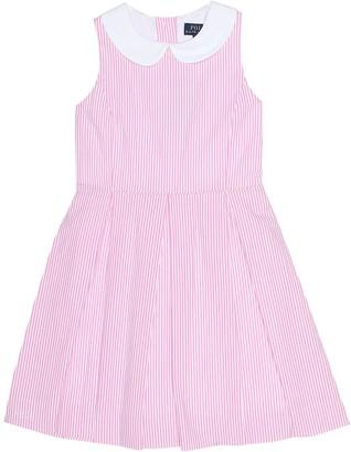 Polo Ralph Lauren Kids Baja striped cotton dress