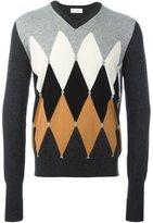 Ballantyne rhombus intarsia jumper - men - Cashmere - 46