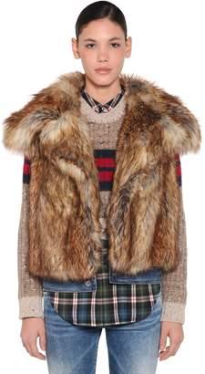 DSQUARED2 Faux Fur Vest
