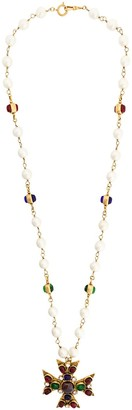 Chanel Pre Owned Byzantine Haute Couture pendant