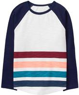 Gymboree Striped Raglan Tee