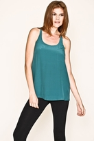 Joie Vanna T-Back Pocket Tank in Mermaid