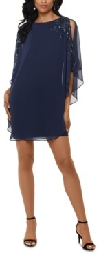Xscape Evenings Overlay Dress