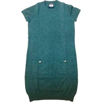 Chanel \N Green Cashmere Dresses