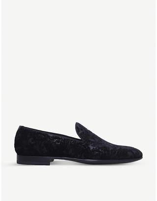 Magnanni Baroque velvet slippers