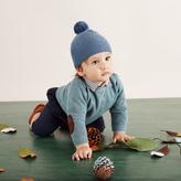 Marie Chantal Baby Boy Textured Hat
