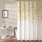 Lush Decor Weeping Flower Shower Curtain