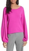 Milly Women's Voluminous Sleeve Sweater