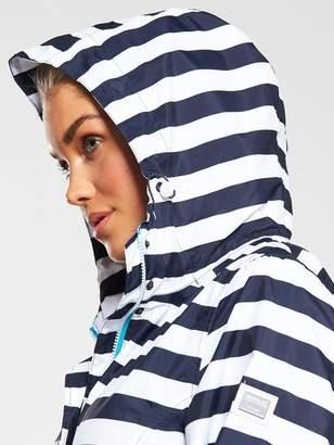 Regatta Basilia Waterproof Jacket - Navy Stripe