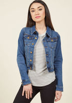 ModCloth Casually Dashing Denim Jacket in 2X