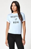 La Hearts Keeping It Real Ringer T-Shirt