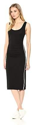 Enza Costa Women's Viscose Matte Jersey Tank Midi Dress