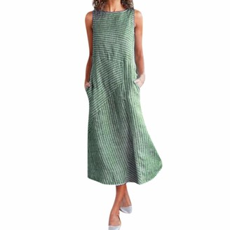 Reooly Clothes Mini Dress Party Dresses Convict Fancy 1973s for Women Baby Dressing Gown Maternity Peasant Star Multiway Coast Tunic Dress Women Summer Womens Dressing Gown Mini Party Dresses Green