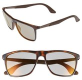 Carrera Men's Eyewear 56Mm Retro Sunglasses - Havana Brown
