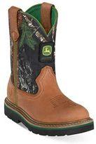 John Deere Johnny Popper Mossy Oak Kids' Boots
