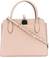 Bulgari round top handle tote