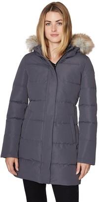 Women's Halitech Faux-Fur Hood Puffer Jacket