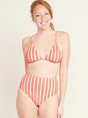 Old Navy Striped String Bikini Swim Top for Women
