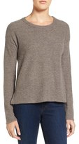 James Perse Women's Tuck Stitch Cashmere Sweater