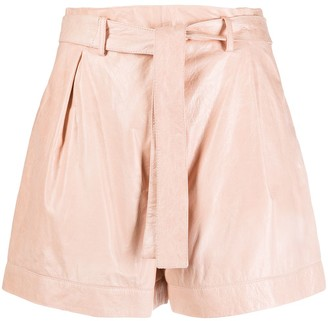 Drome Tie-Waist Shorts