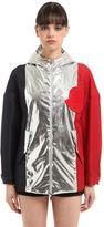 Moncler Gamme Rouge Faille & Poplin Lamé Jacket