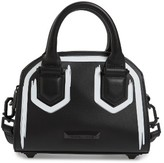 KENDALL + KYLIE Holly Mini Leather Satchel - Black