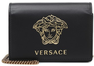 Versace Medusa Small leather shoulder bag