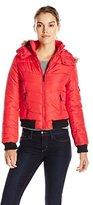 New Look Women's Short Puffer Jacket with Hood