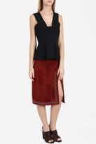 A.L.C. Aimee Suede Studded Skirt