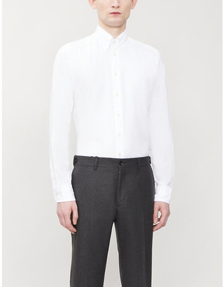 Eton Slim-fit woven-twill shirt