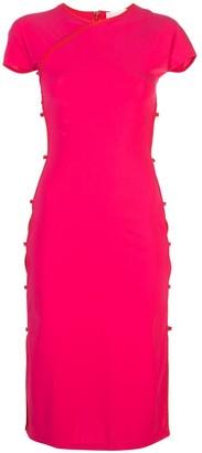 Marcia Tchikiboum cut-out side dress