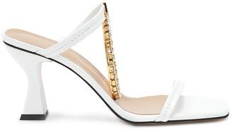 J.W.Anderson Crystal-Embellished Mid-Heel Sandals