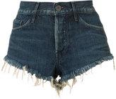 3x1 cut off denim shorts - women - Cotton - 24