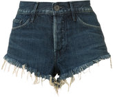 3x1 cut off denim shorts - women - Cotton - 26