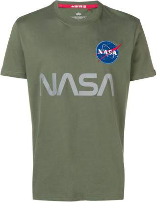 Alpha Industries NASA patch T-shirt
